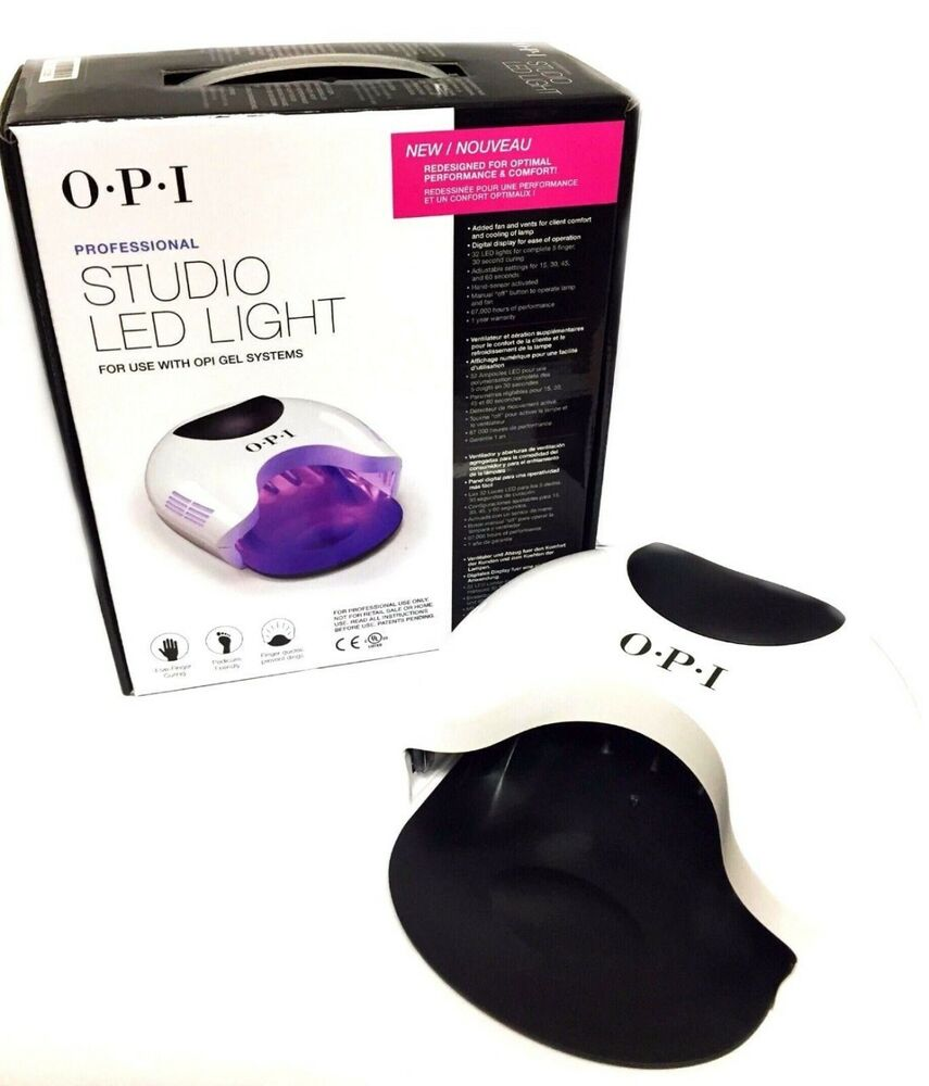 Opi Studio Led Light Gl901: OPI LED LAMP GelColor Studio GL901 ORIGINAL UK VERSION