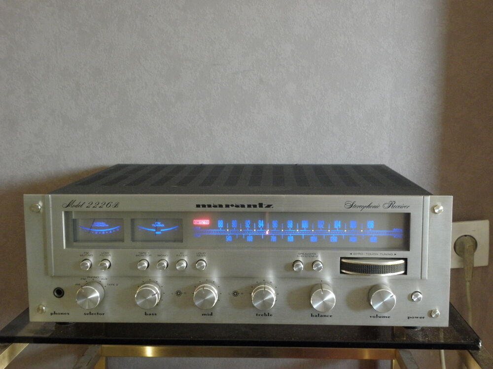 rare amplifiers marantz 2226 tuner receiver stereo ampli hifi vintage retro hifi ebay. Black Bedroom Furniture Sets. Home Design Ideas