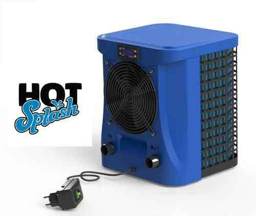 New Hot Splash Pool Heat Pump Heater For Above Ground Pools Up To 10m3 Ebay