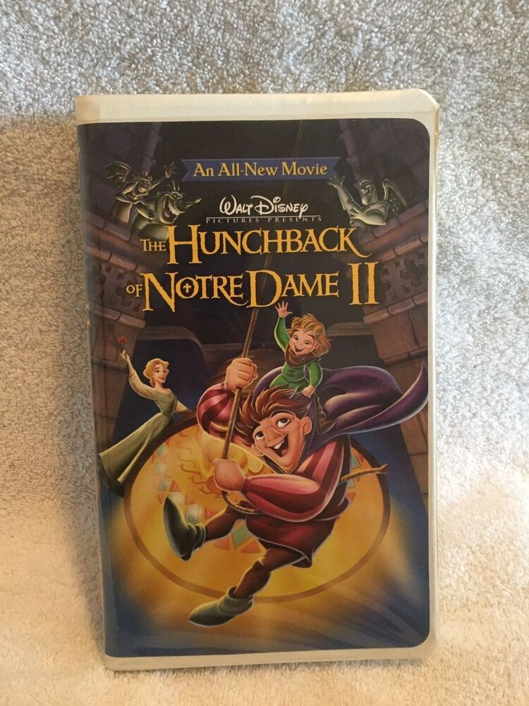 walt disney the hunchback of notre dame ii vhs used ebay