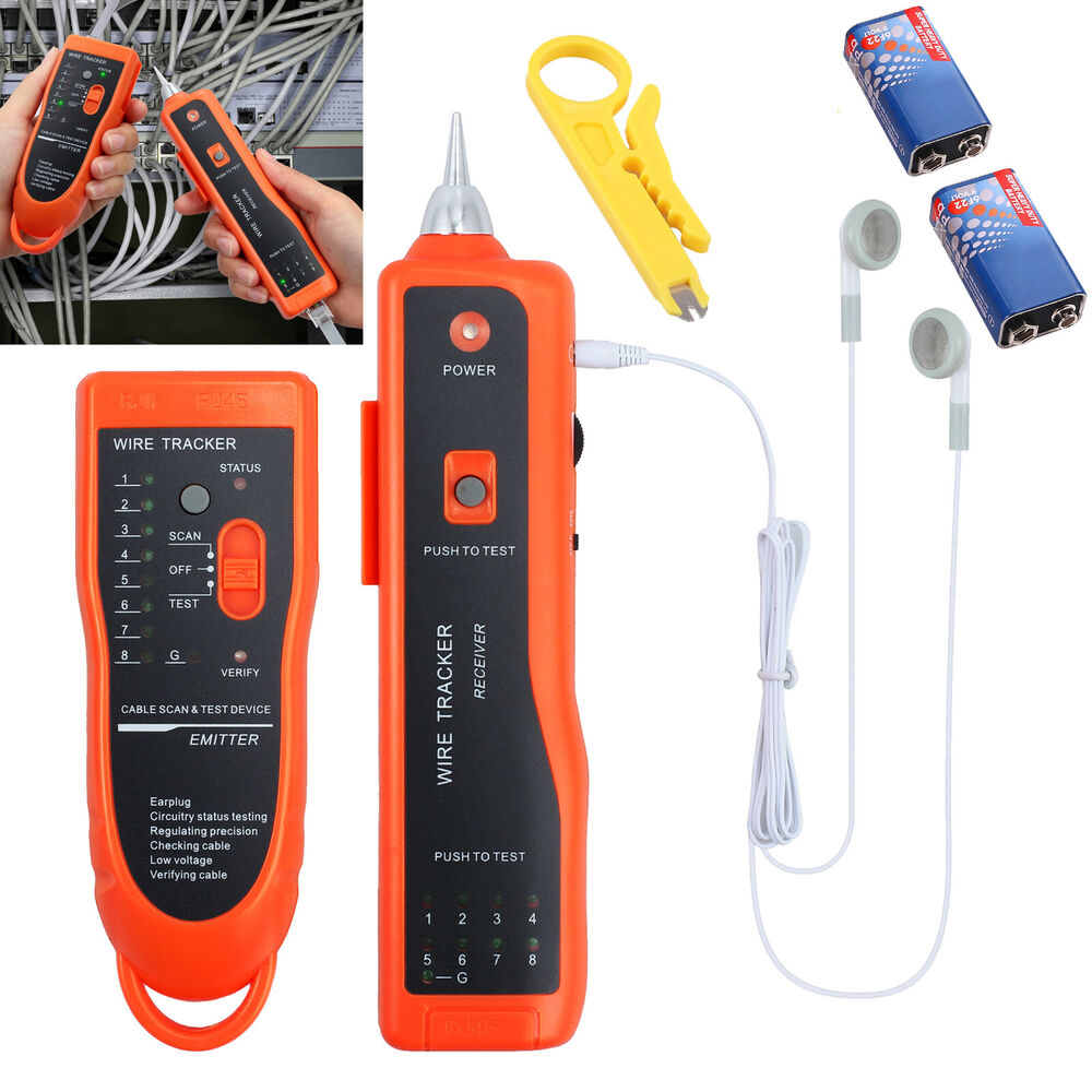 Lowes Tone Generator Electrical Wire Tracer Electrical: Phone Telephone Network Cable Wire Line LAN Cable RJ