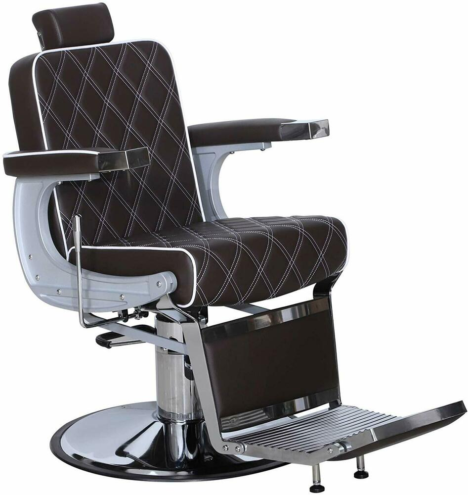 Ambassador heavy duty barber salon chair premium for Salon chairs