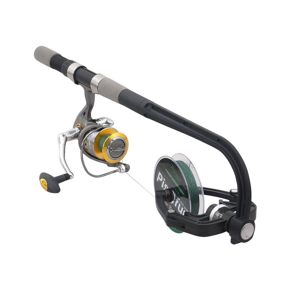 Piscifun fishing line winder spooler machine spinning reel for Fishing line on reel