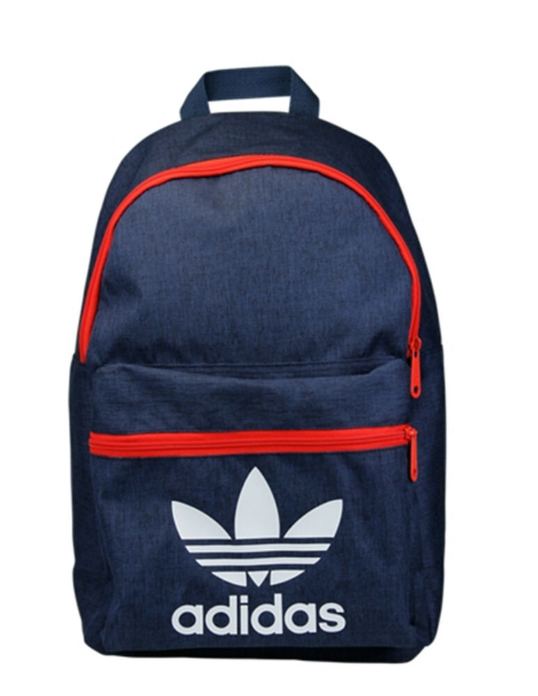 adidas originals classic trefoil backpack rucksack bag. Black Bedroom Furniture Sets. Home Design Ideas