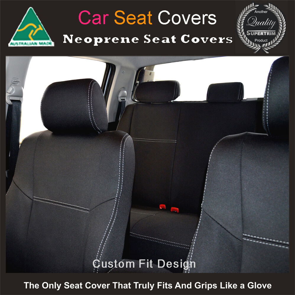 seat cover fits mini cooper front rear 100 waterproof premium neoprene ebay. Black Bedroom Furniture Sets. Home Design Ideas