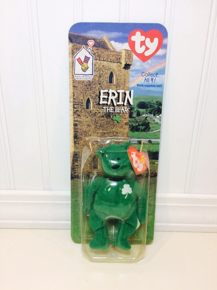 Details about TY Teenie Beanie Babies Erin The Bear McDonalds Promo 1999  NEW IN PACKAGE e44674e0855d