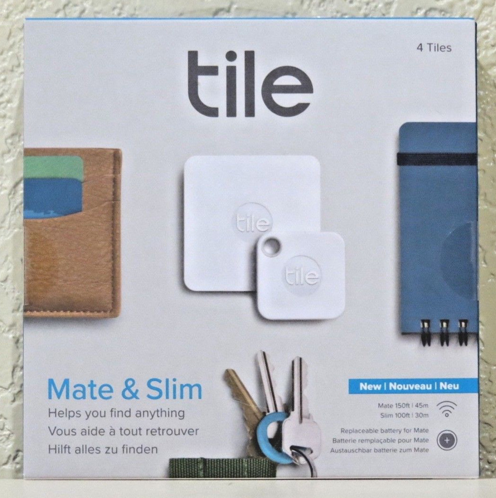 Tile Mate Amp Slim Combo Trackers 4 Pack New Gt Sealed Gt Free