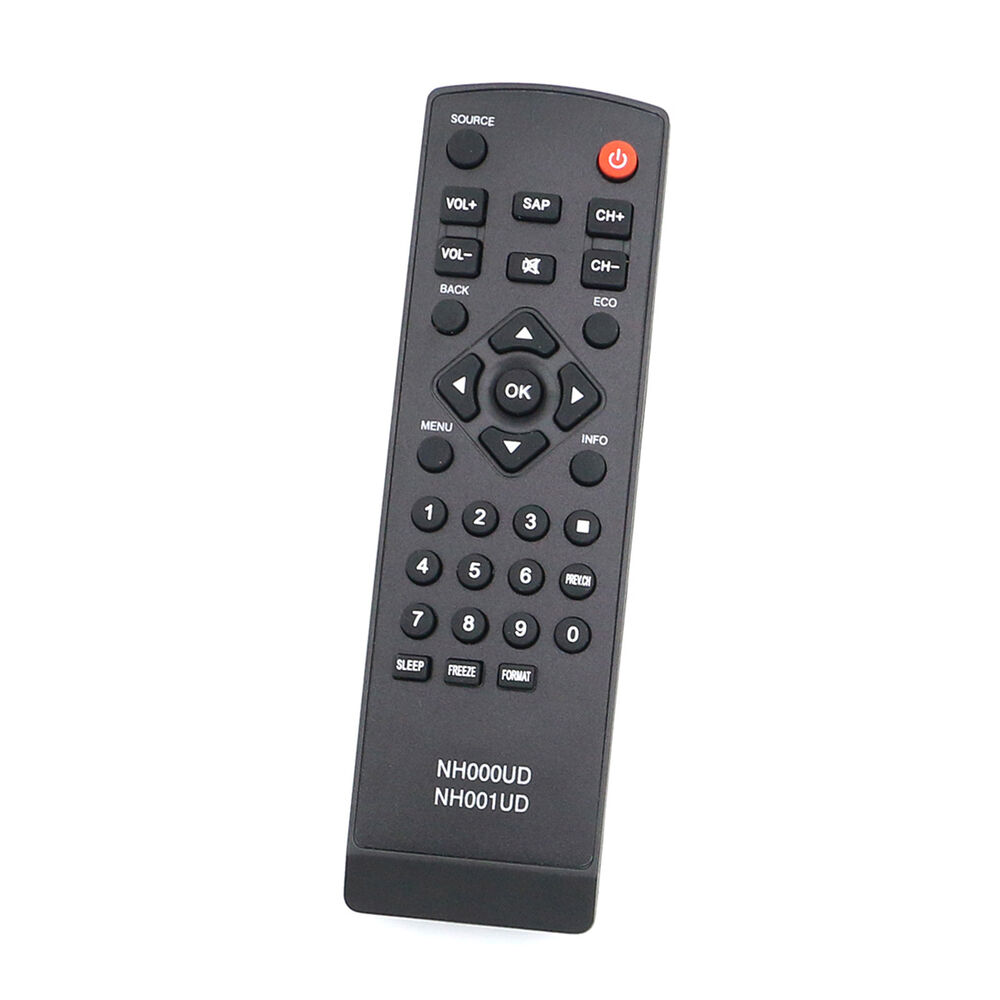 new nh000ud nh001ud replacement remote control for emerson sylvania tv ebay. Black Bedroom Furniture Sets. Home Design Ideas