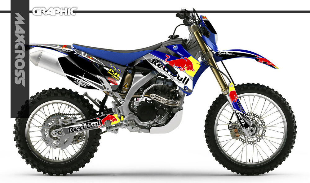 Yamaha wr250f wr450f yz250f yz450f 2006 2007 2009 maxcross for Yamaha replacement decals