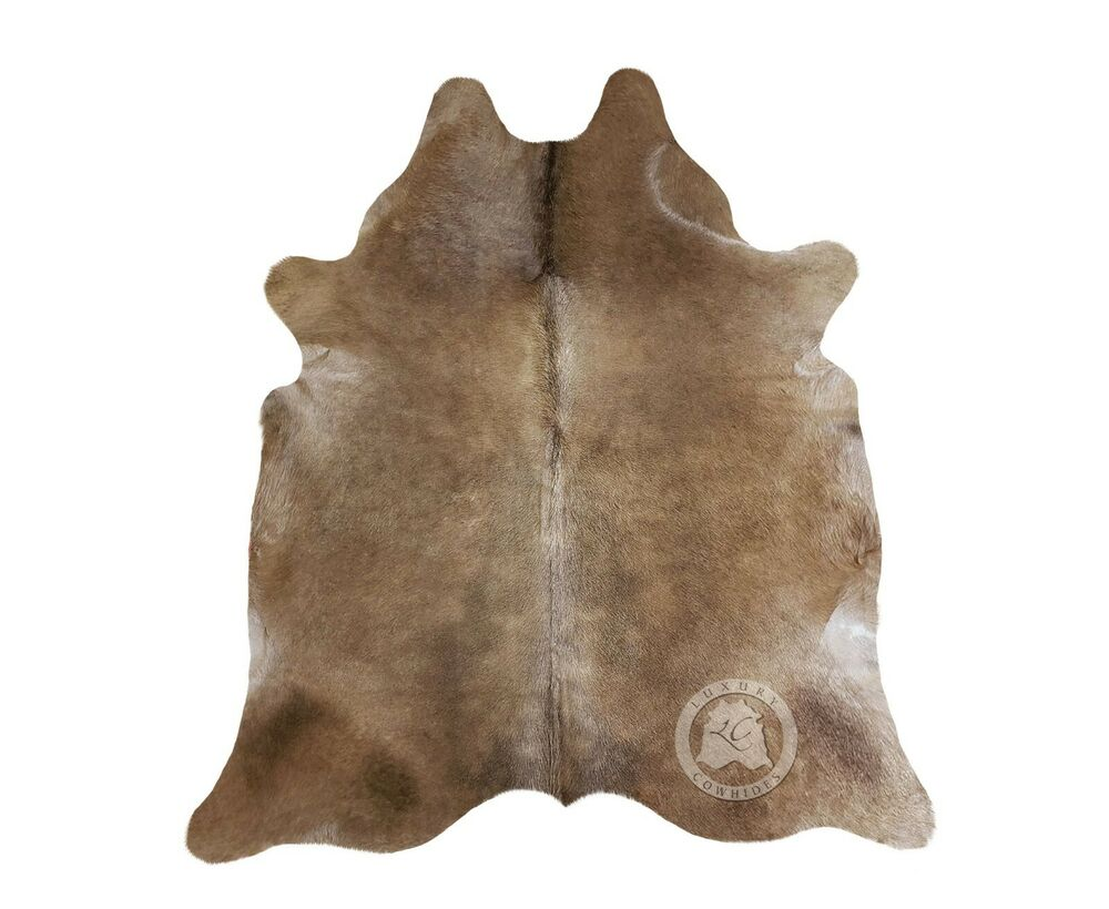 New Brazilian Cowhide Rug Leather Taupe Grey 6 39 X8 39 Cow