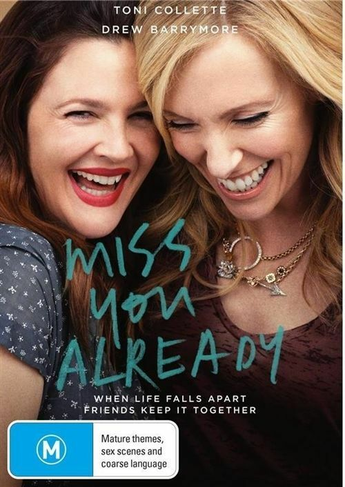 Details about Miss You Already (Dvd) Drama, Comedy, Romance Drew Barrymore,  Toni Collette Film