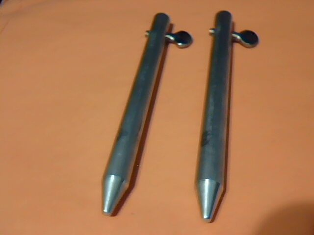 Locking Pins For Accordion Hurricane Storm Shutter Panels