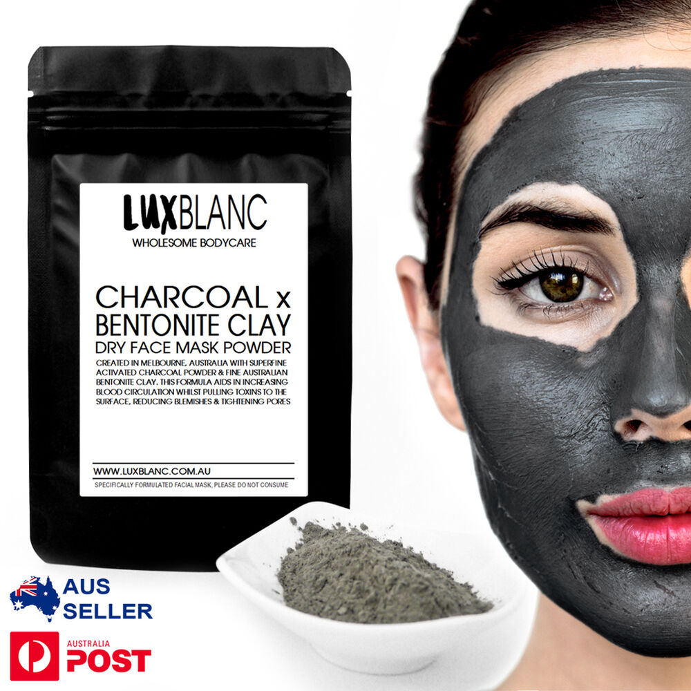 Bentonite Clay And Activated Charcoal Face Mask