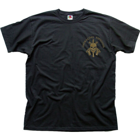 img-BOPE Tropa De Elite Battalion black cotton t-shirt FN01475