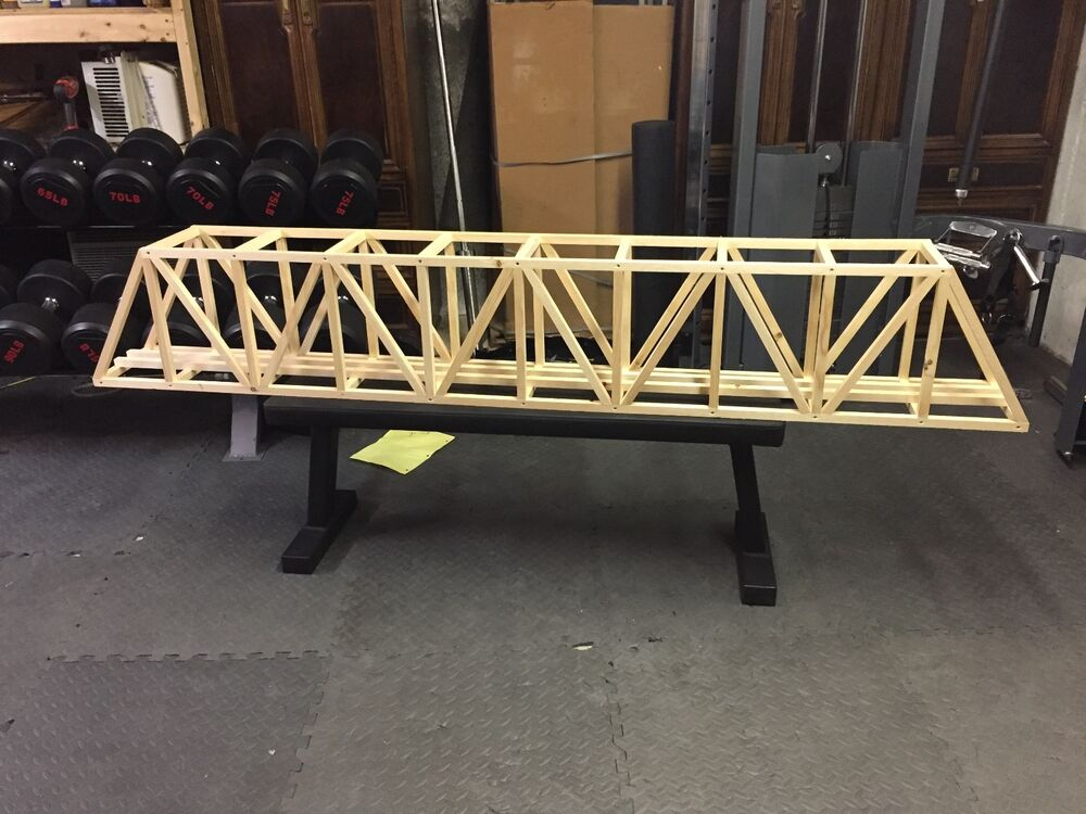 96 Quot G Scale Ceiling Railroad Overhead Truss Bridge Not