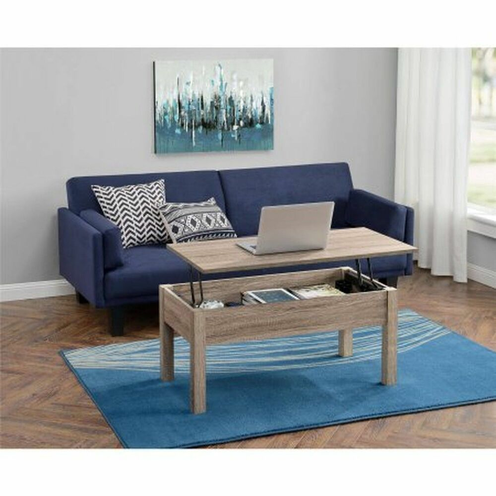 Mainstays Lift Top Coffee Table Living Room Furniture Wood