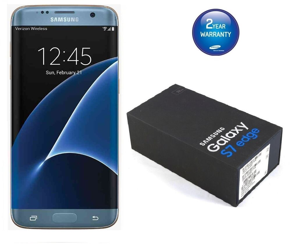 Brand New Samsung Galaxy S7 Edge Coral Blue G935f 4g Unlocked 32gb Mobile Phone Ebay