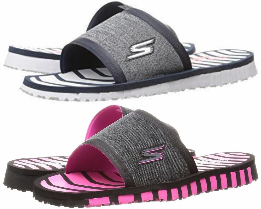 Skechers Flip Flops Performance Womens Go Flex Rely Flip Flop  Ebay-6716