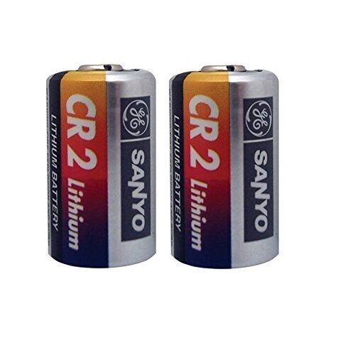 2 sanyo cr2 3v photo lithium battery cr2 cello pack ges lccr2 ebay. Black Bedroom Furniture Sets. Home Design Ideas