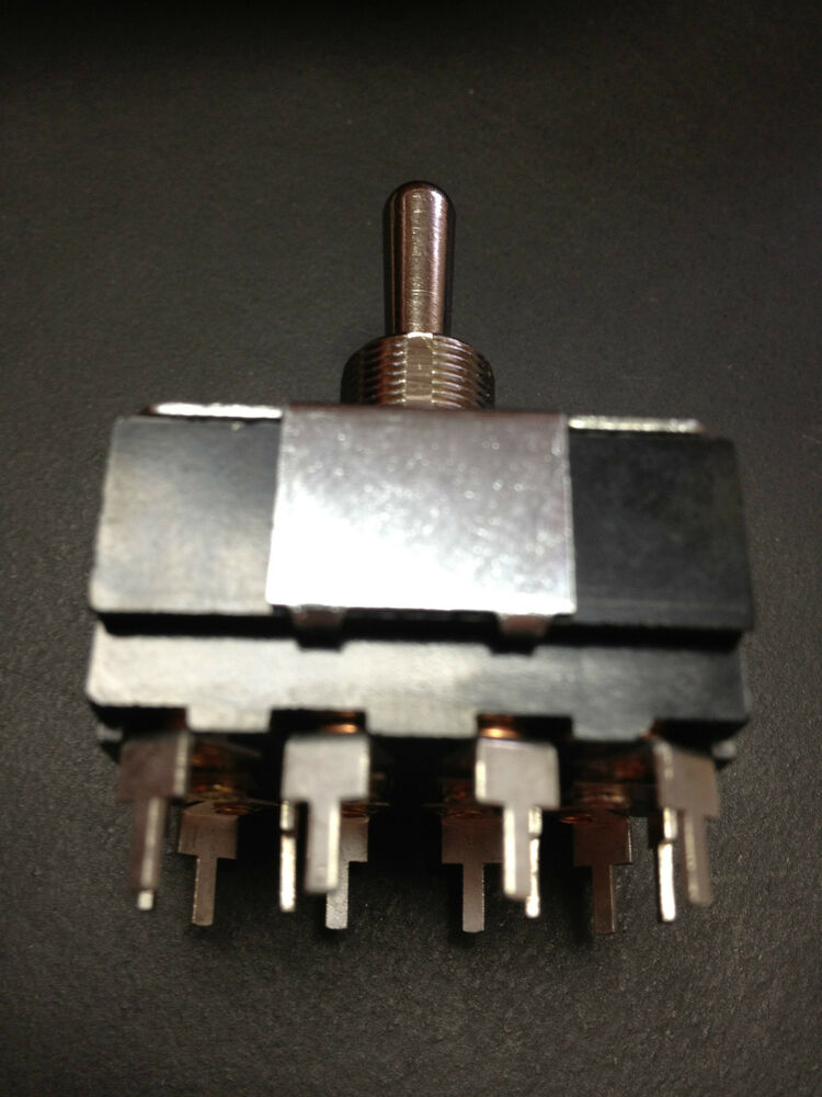 Carling 4 Pole Toggle Switch Part Im256 78 Xcp2 From