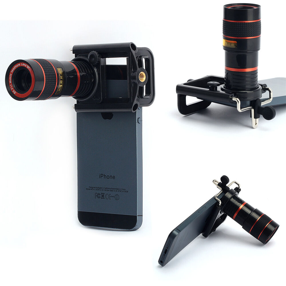 iphone zoom lens 8x zoom telephoto telescope lens phone clip for 12509