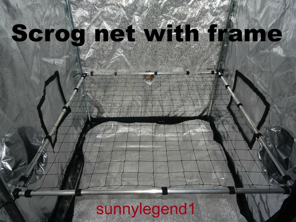 Scrog Net With Frame 1 2m X 1 2m 50mm Net Grow Tent