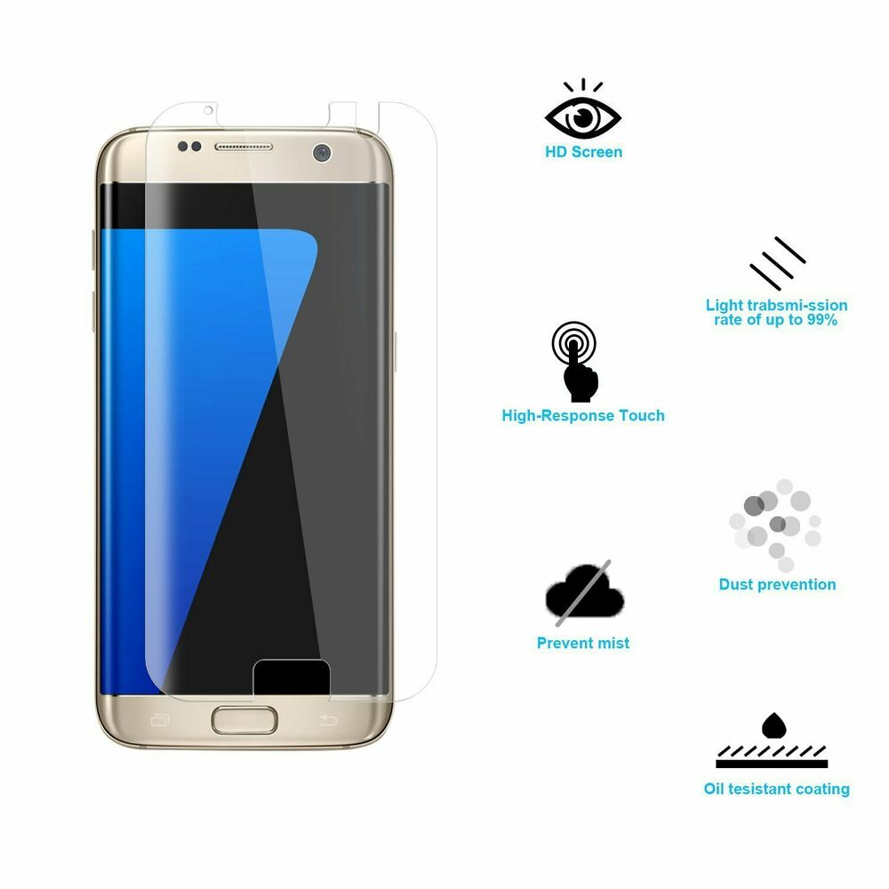 Samsung Galaxy S7 S7 Edge Replacement Back Glass Cover W