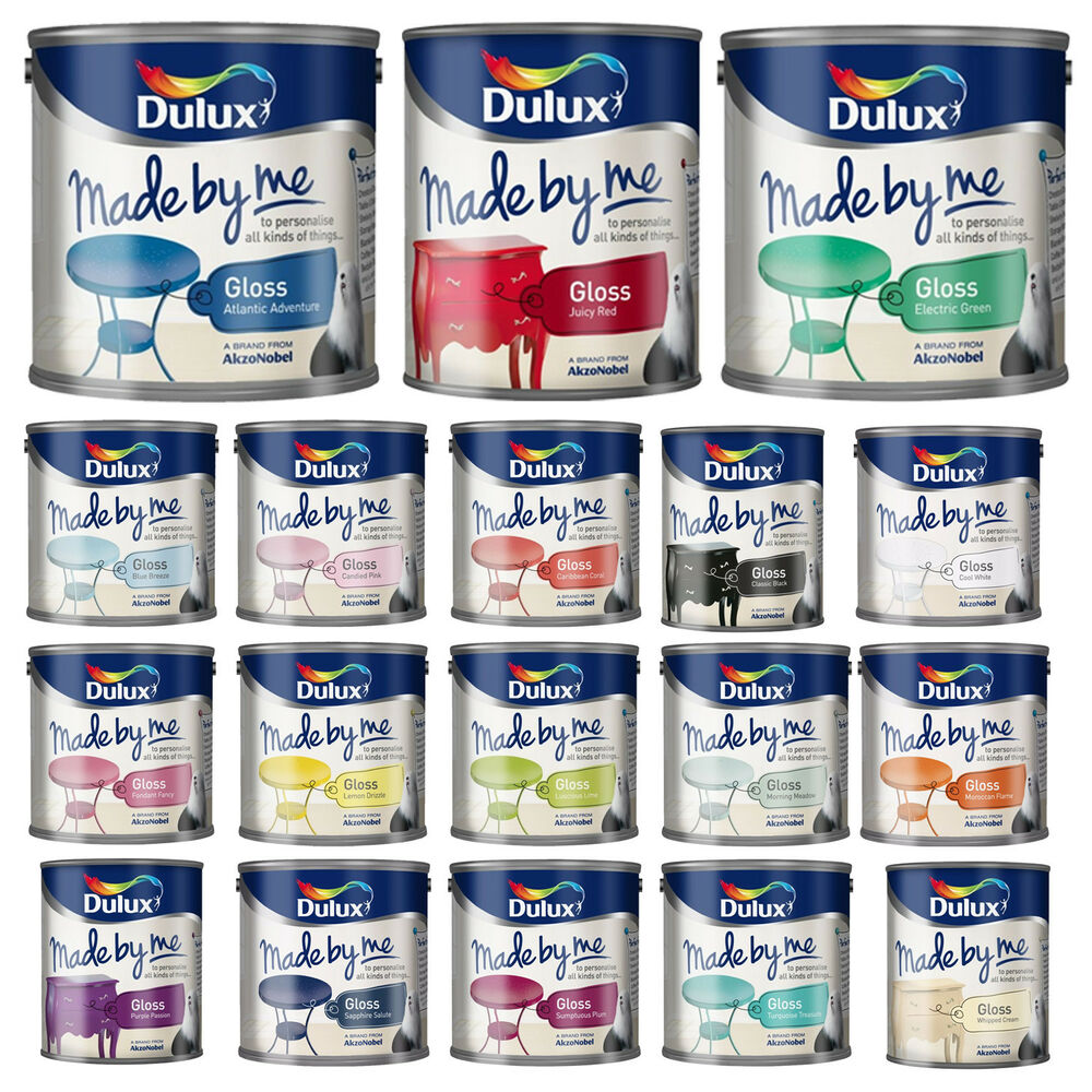 dulux made by me gloss paint furniture decorations