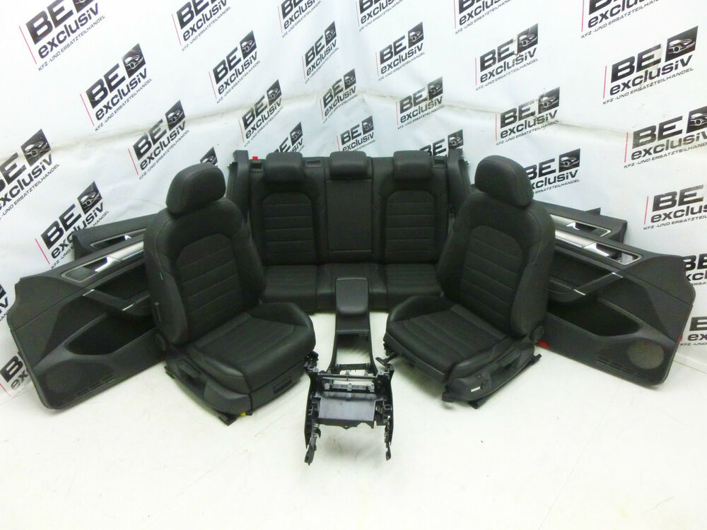 vw golf 7 vii lederausstattung sitze teilleder massage. Black Bedroom Furniture Sets. Home Design Ideas