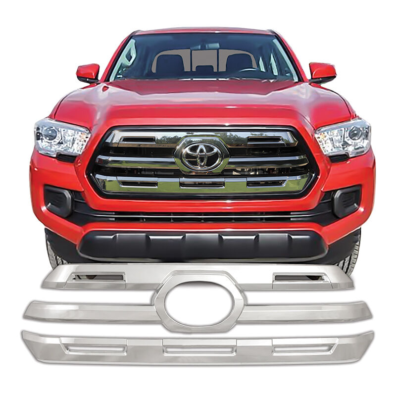Toyota Tacoma Limited: Chrome Grille Overlay FOR '16 '17 2016 2017 Toyota Tacoma