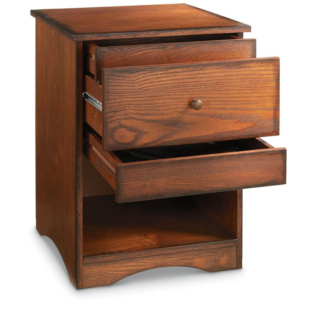 Coffee Table With Gun Drawer Plans: Hide A Gun Drawer Concealment End Table Night Stand Pistol