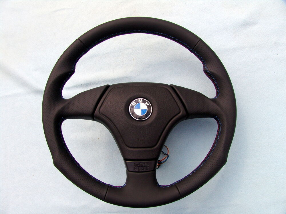 Bmw Airbag Euro Sports Steering Wheel E36 M3 Thumb Rests Ergonomic Inlays Ebay