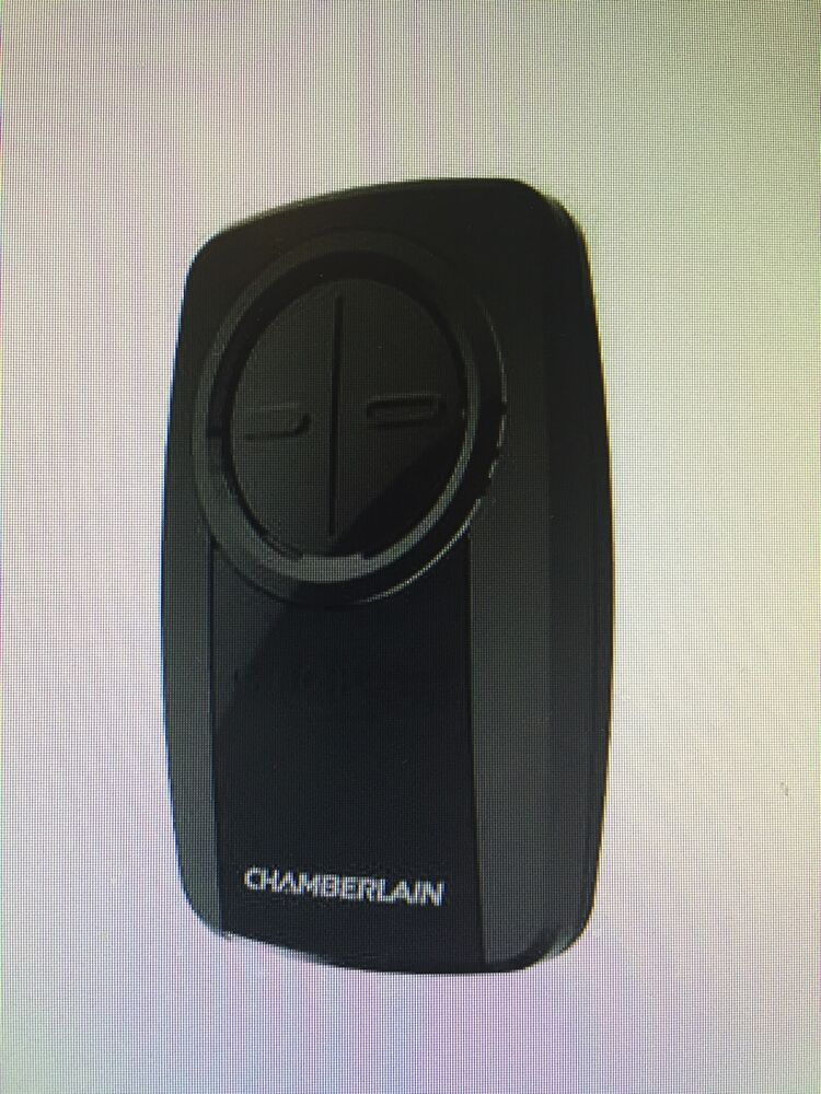 Chamberlain klik3u universal garage door opener remote craftsman lm375ut black ebay - Buy garage door opener remote ...