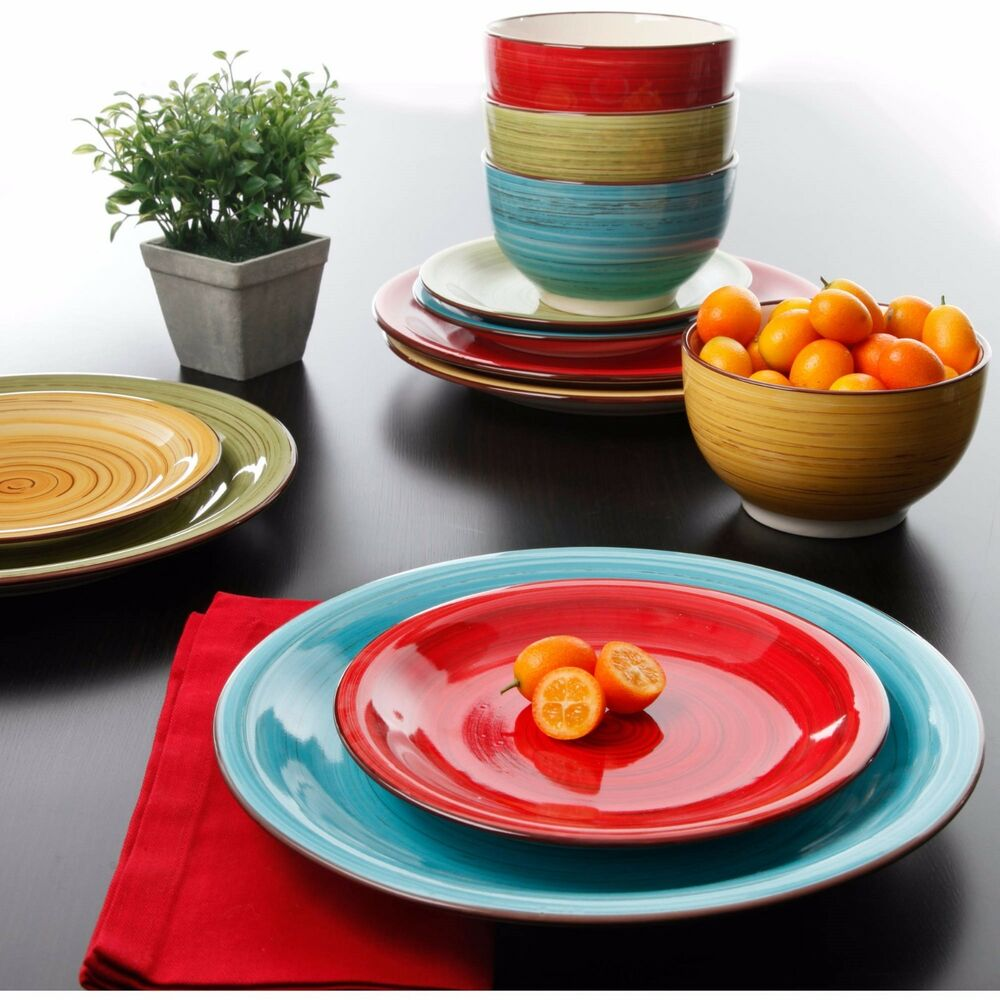 Colorful Dinnerware Set Kitchen Dinner Ware Service Multi Color 12 Pc Ceramic  Ebay. Kitchen Heated Tile Floor. Kitchen Black And Brown. Tiny Kitchen Grilled Cheese. Dream Easy Kitchen. Modern Kitchen With Rustic Elements. Kitchen Tile With Dark Cabinets. Kitchen Backsplash On Sale. Old Kitchen Taps