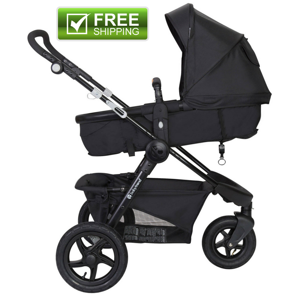 Baby Trend Debut Sport 3 Wheel Lightweight Stroller