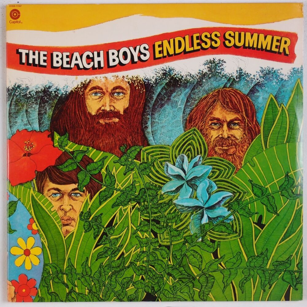 the beach boys endless summer usa capitol 2x lp orange. Black Bedroom Furniture Sets. Home Design Ideas