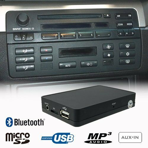 Bluetooth Music Handsfree Mp3 Cd Changer Adapter Bmw E36