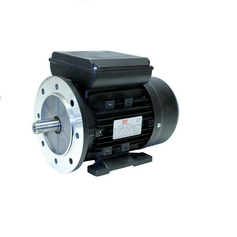 Single phase electric motor 2 2kw 4 pole for Two phase electric motor