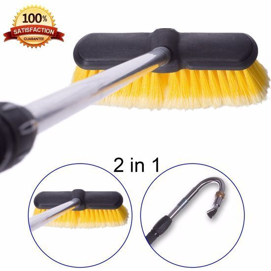 Telescopic Wand Gutter Cleaner House Roof Car Multipurpose