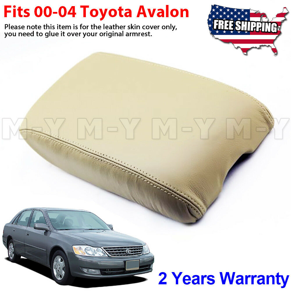 Volvo Truck Center >> Fits 2000-2004 Toyota Avalon Leather Center Console Lid Armrest Cover Beige Tan | eBay