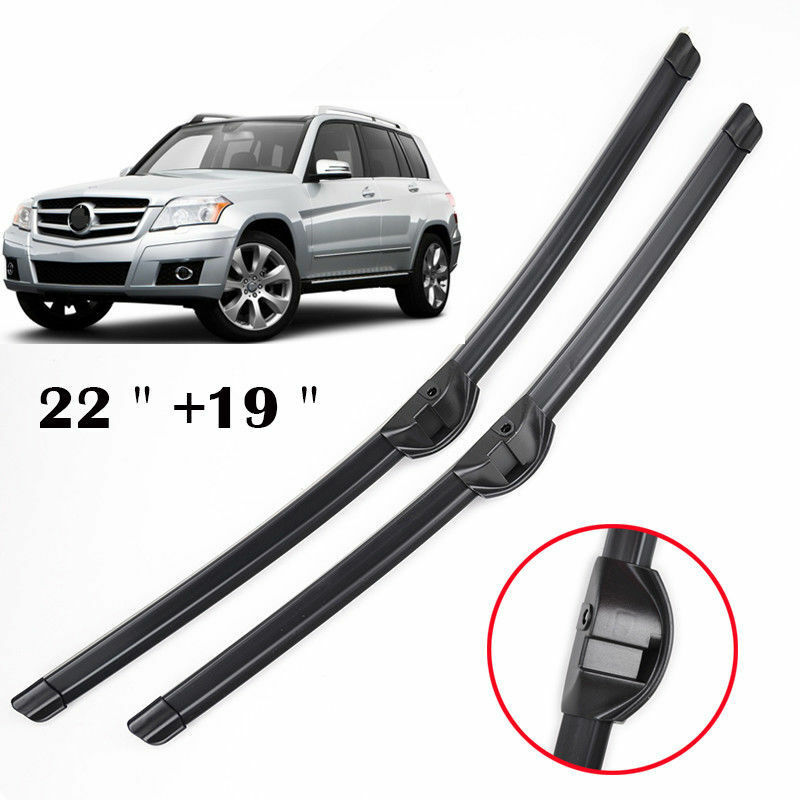 2pcs set windshield flat wiper blades front window for for Mercedes benz c300 wiper blades