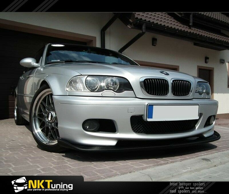 bmw e46 front bumper spoiler m sport ebay. Black Bedroom Furniture Sets. Home Design Ideas