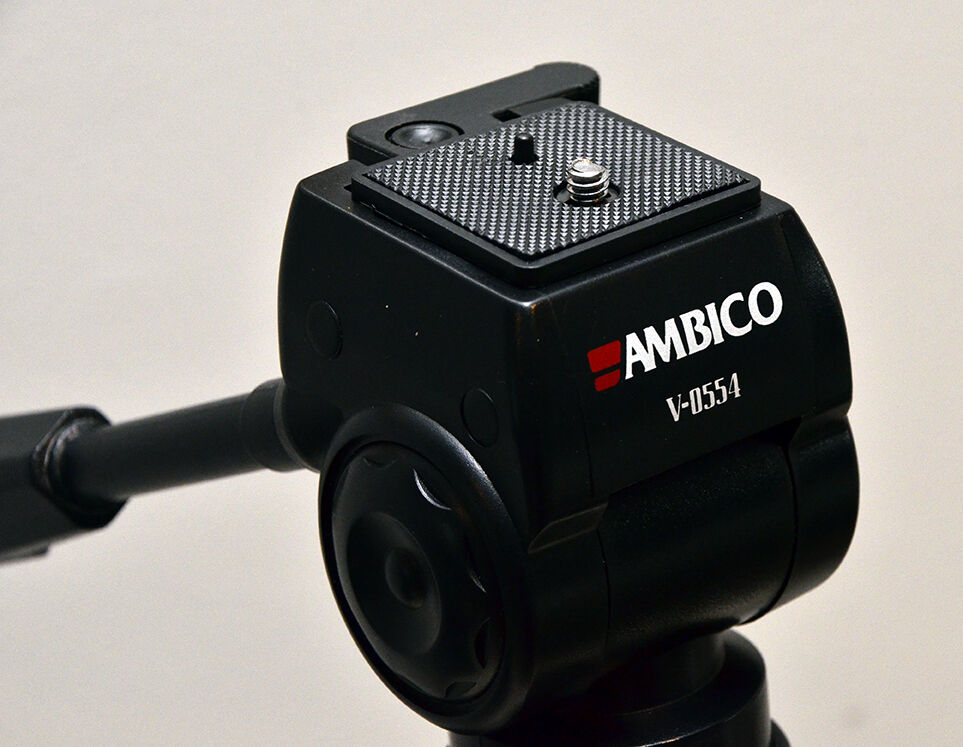 quick release plate for ambico v0553 tripod with fluid type head