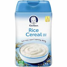 Gerber Rice Baby Cereal -