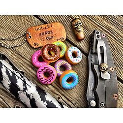 Tactical Donut Beads for keychain, knife lanyard, paracord project, lots of fun!