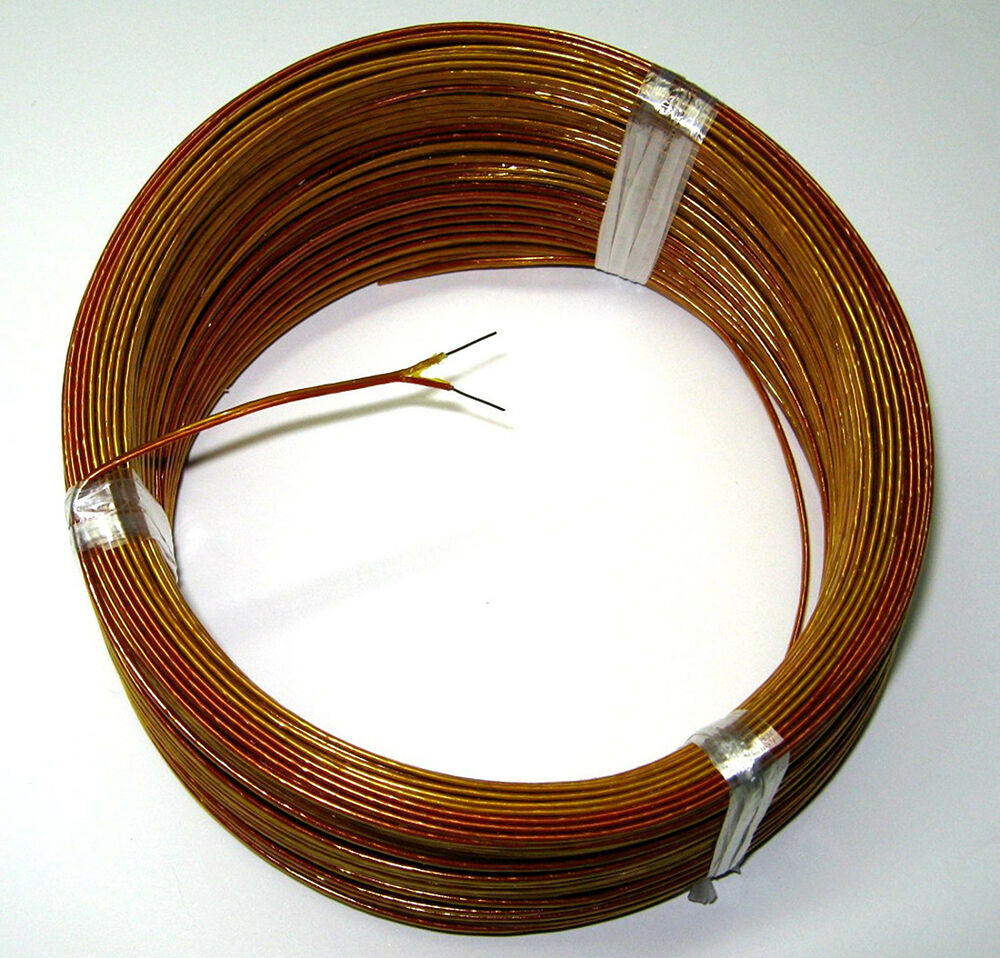 J Thermocouple Wire : K type thermocouple wire awg solid with kapton