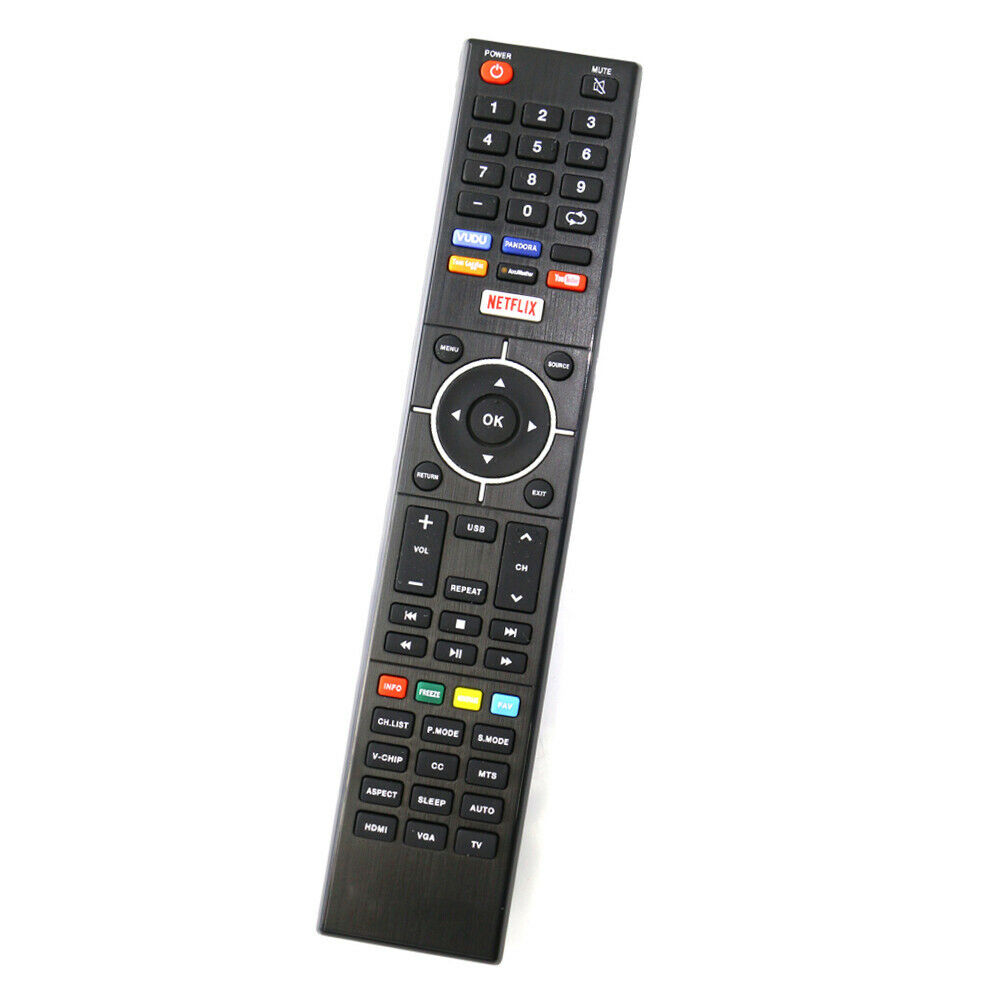 new element remote control smart led tv controller w vudu netflix shortcut key ebay. Black Bedroom Furniture Sets. Home Design Ideas