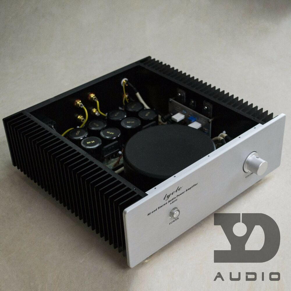 finished a30 stereo fet class a power amplifier 30w mosfet hifi amp ebay. Black Bedroom Furniture Sets. Home Design Ideas