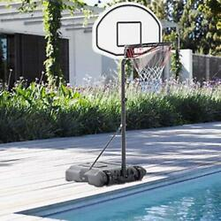 Kyпить New Adjustable Height Basketball Hoop Stand Kids Game Play Exercise System Blue на еВаy.соm
