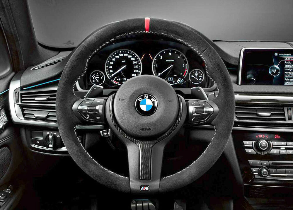 Bmw Oem M Performance Alcantara Steering Wheel F15 X5